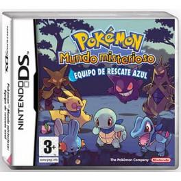 Pokemon Mundo Misterioso Equipo de rescate Azul -